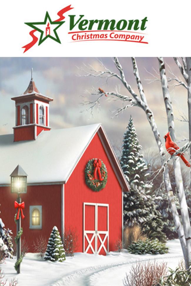 Vermont Christmas Company Catalog Cover