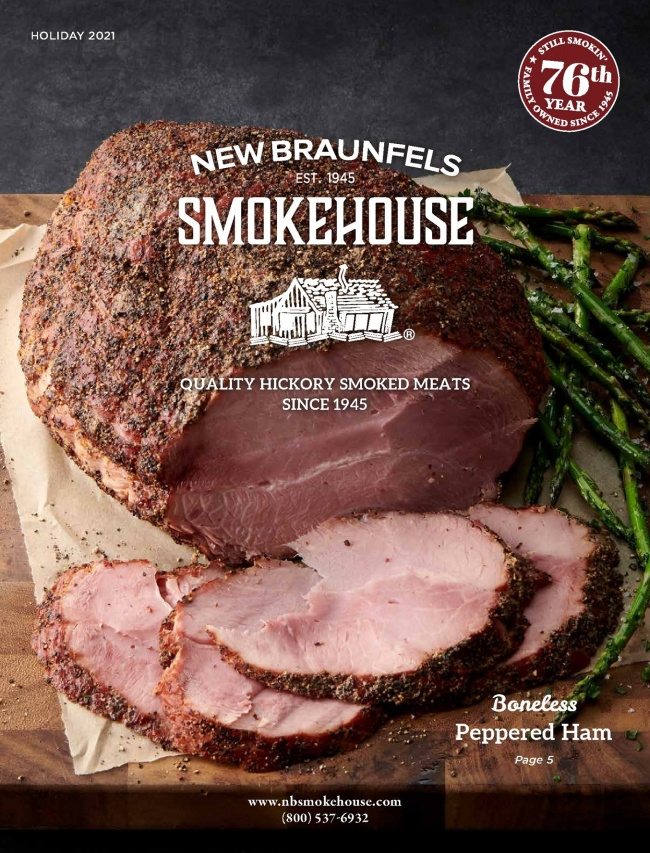 New Braunfels  Smokehouse Catalog Cover