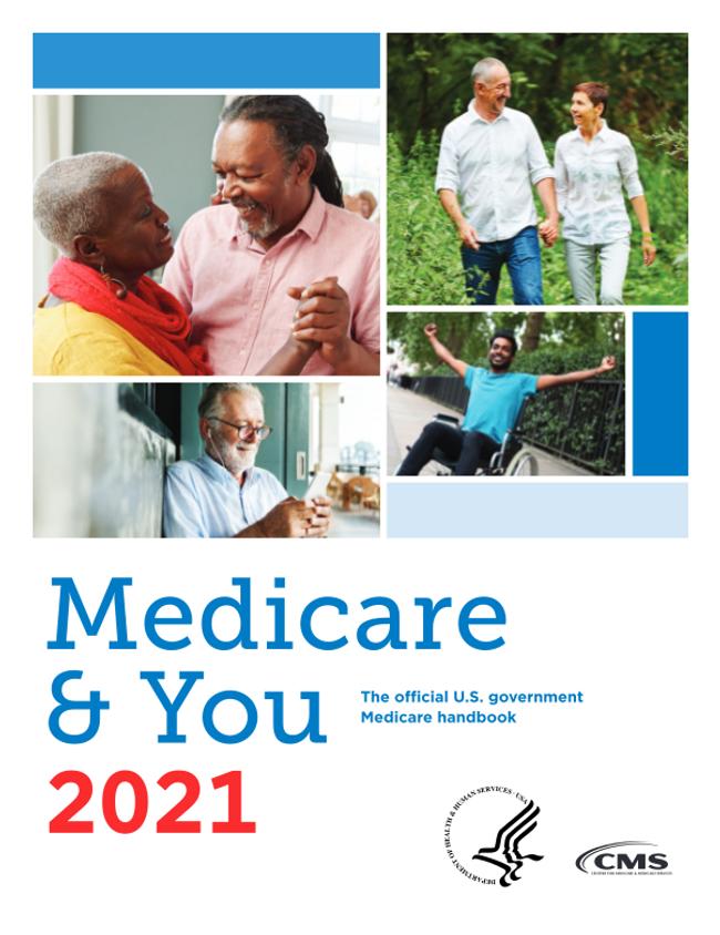 Medicare & You 2021 Catalog Cover