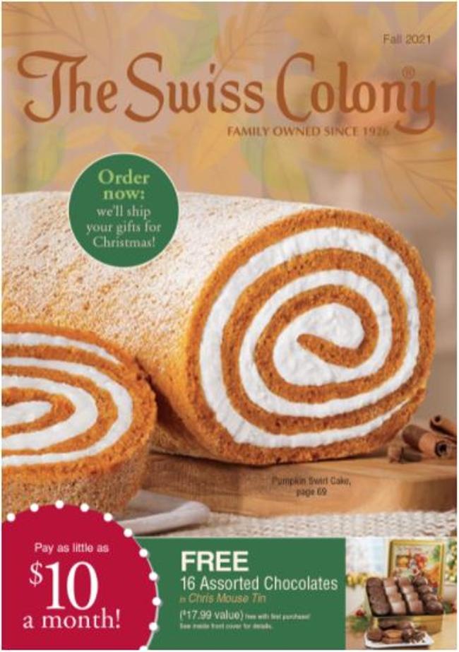 Swiss Colony Catalog Cover