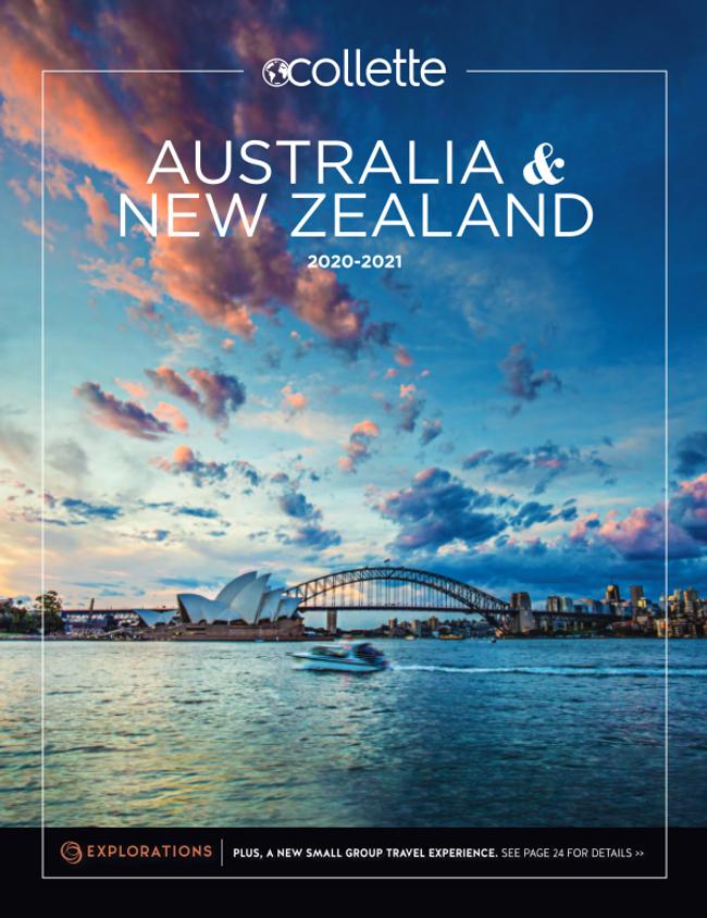 Australia & S. Pacific - Collette (ages 55+) Catalog Cover