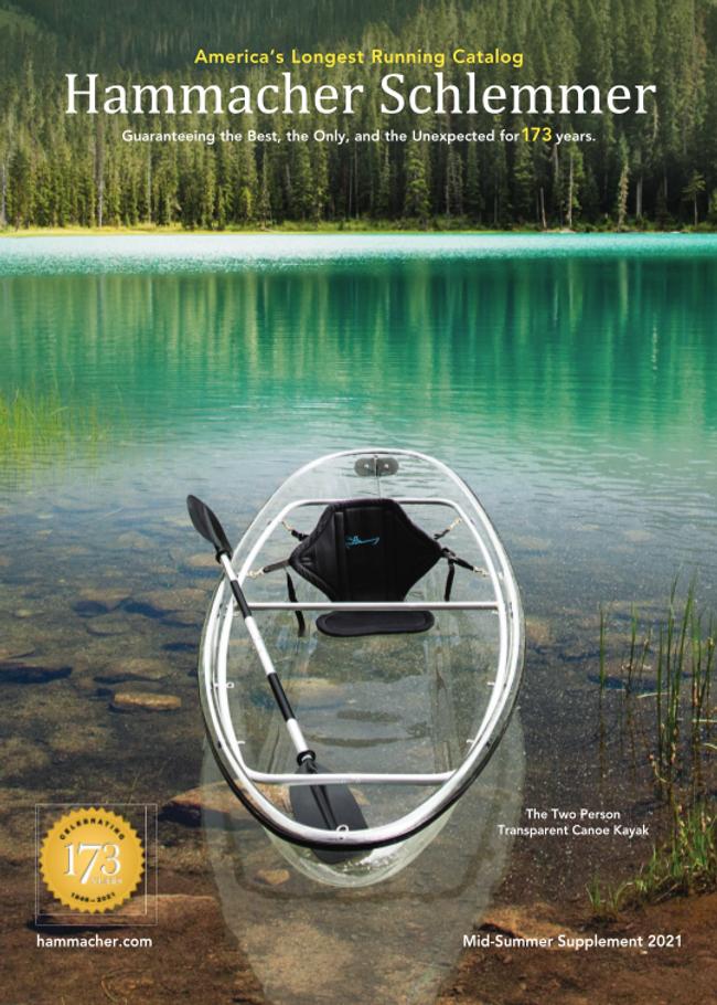 Hammacher Schlemmer Catalog Cover