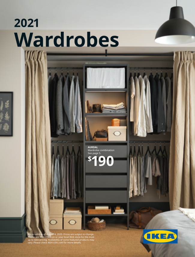 Ikea Wardrobes Catalog Cover
