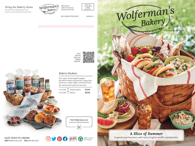 Wolferman's Catalog Cover