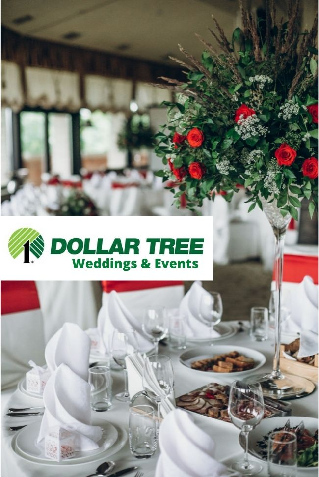 Dollar Tree - Weddings & Events Catalog Cover