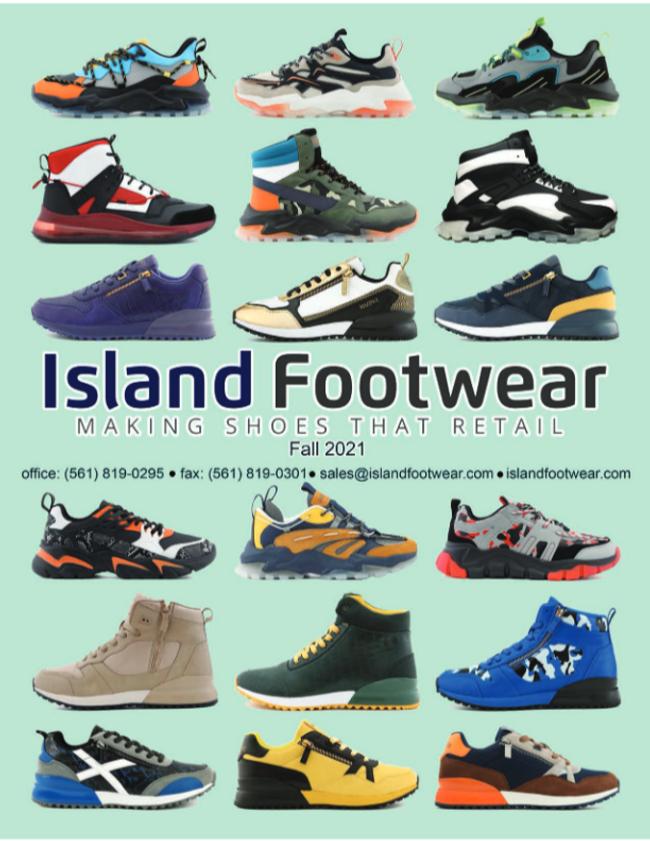 Island Footwear Catalog Cover