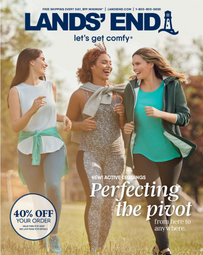 Land's End Catalog Cover