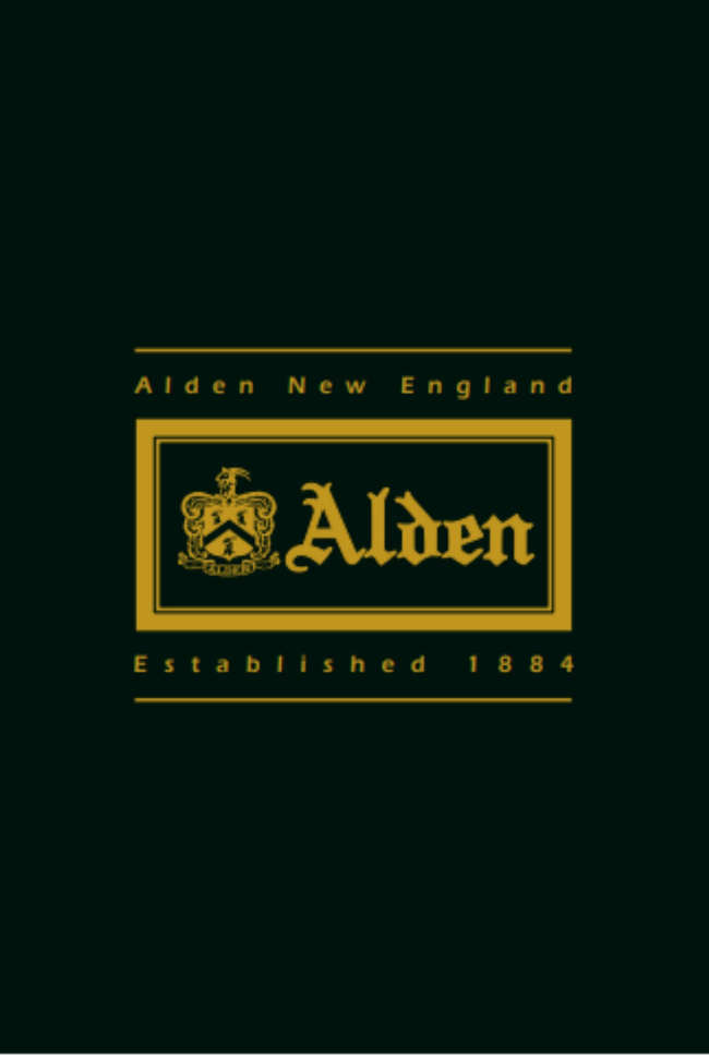 Alden Catalog Cover