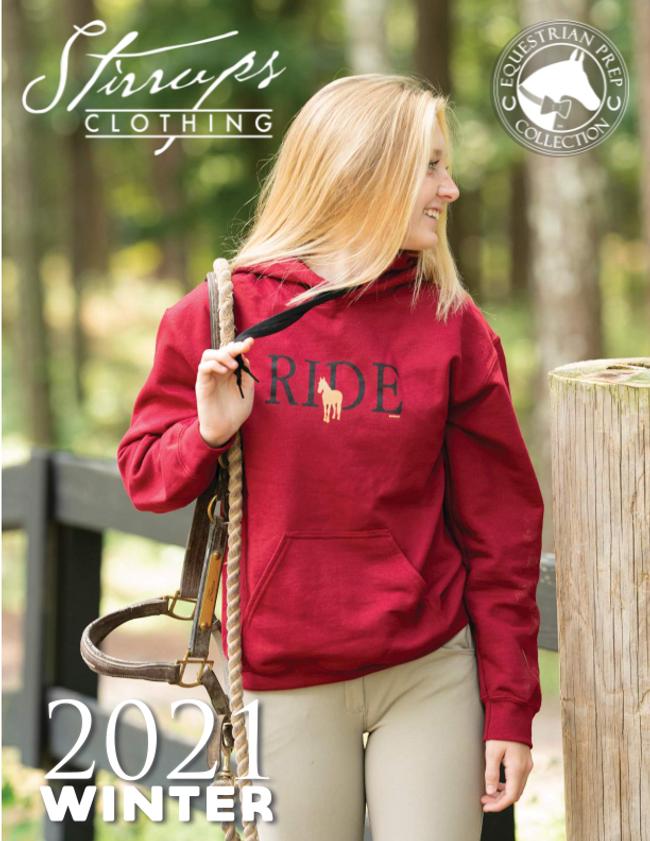Stirrups Clothing Catalog Cover