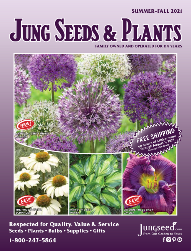 Jung Seed Catalog Cover