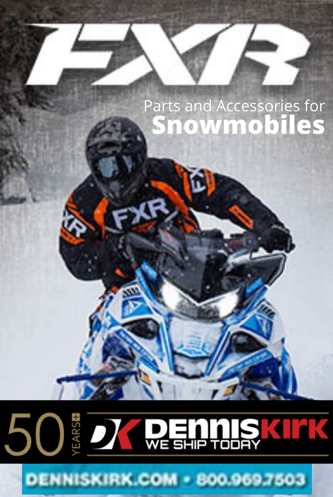 Snowmobile by Dennis Kirk Catalog Cover