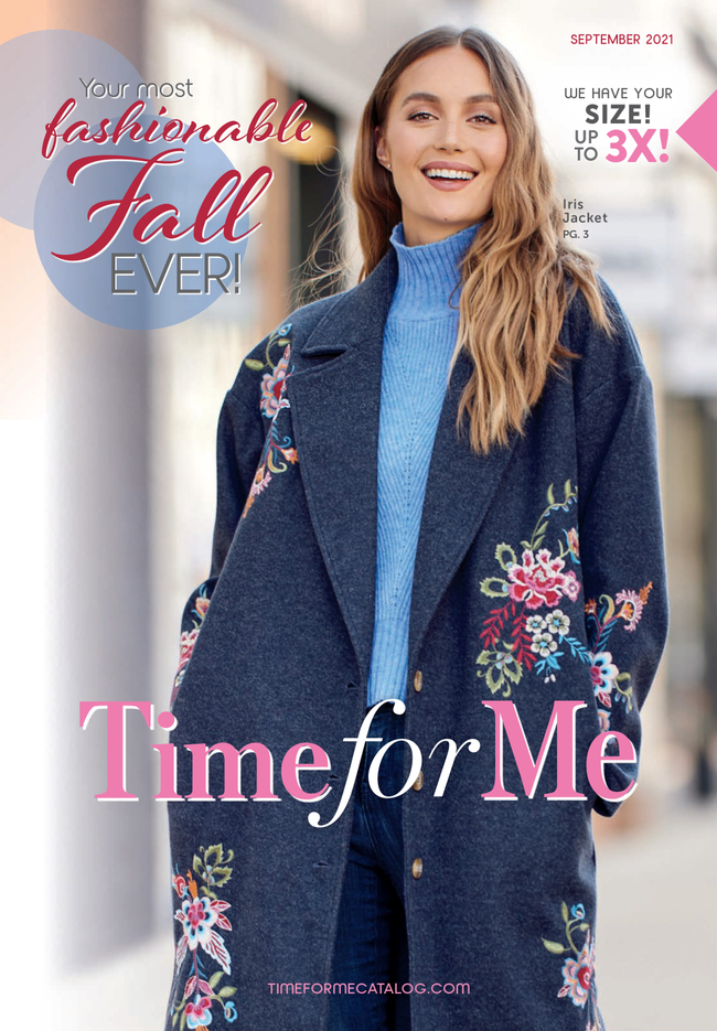 Time For Me Catalog Cover