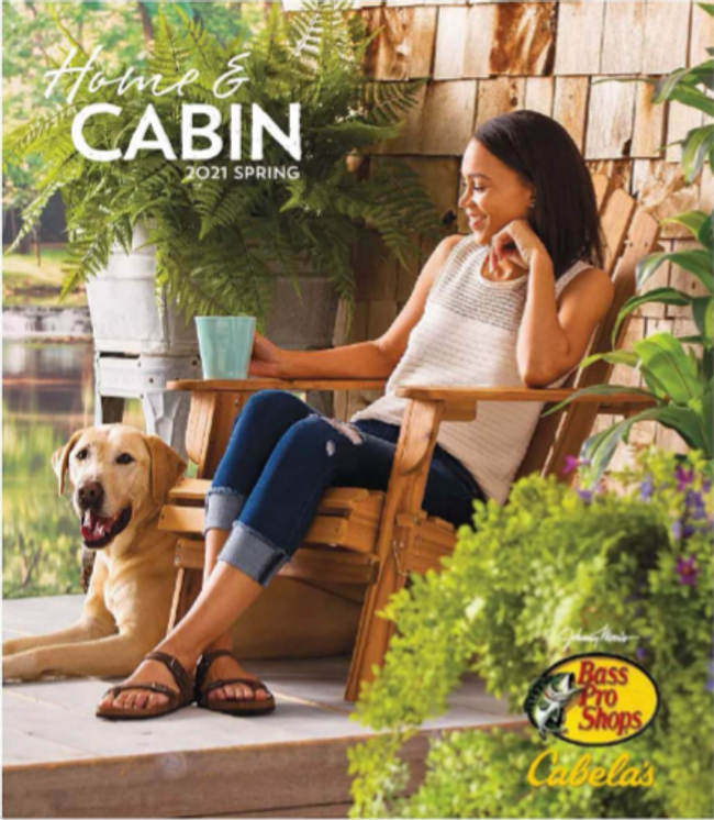 Cabela's Home and Cabin  Catalog Cover