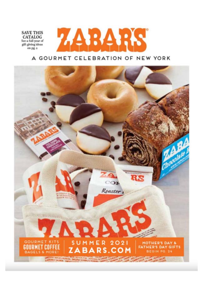 Zabars Catalog Cover
