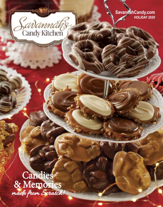 Savannah's Candy Kitchen Catalog Cover