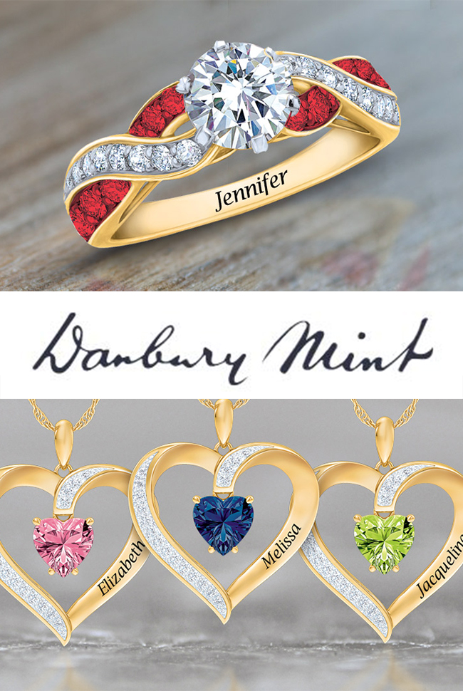 Danbury Mint - Fine Jewelry Catalog Cover