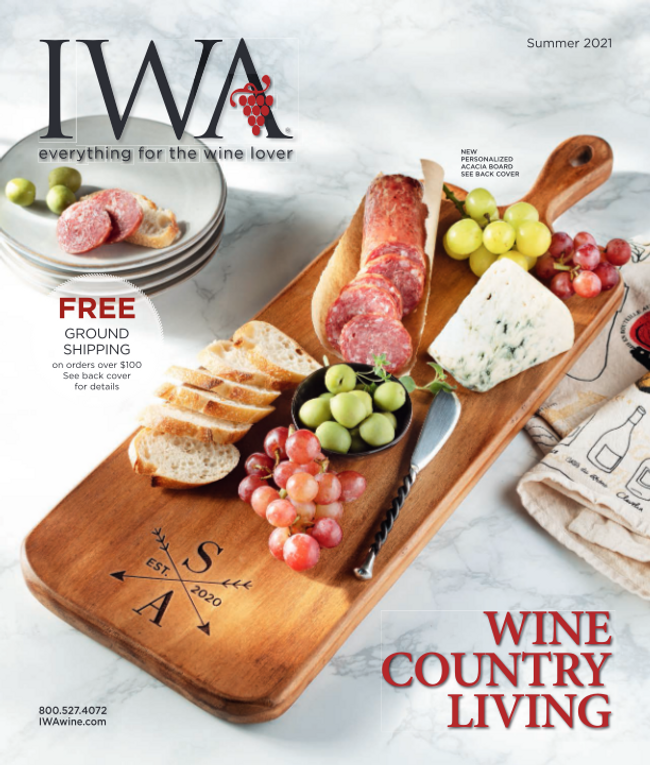 International Wine Accessories Catalog Cover