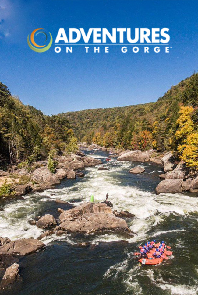 Adventures on the Gorge Catalog Cover