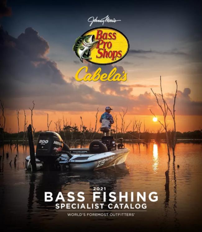 Cabela's Bass Fishing Catalog Cover
