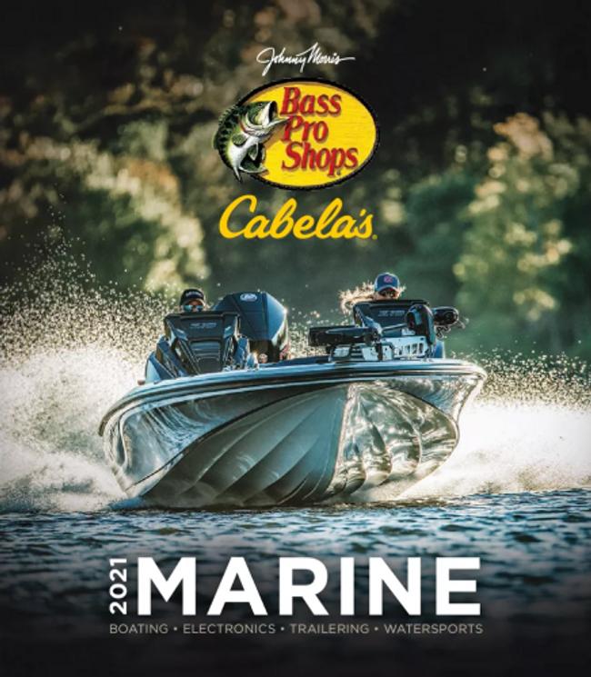 Cabela's Marine Catalog Cover