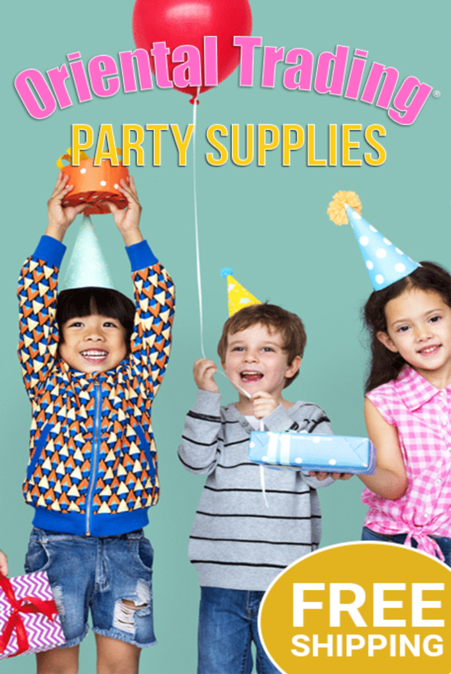 Oriental Trading - Party Supplies Catalog Cover