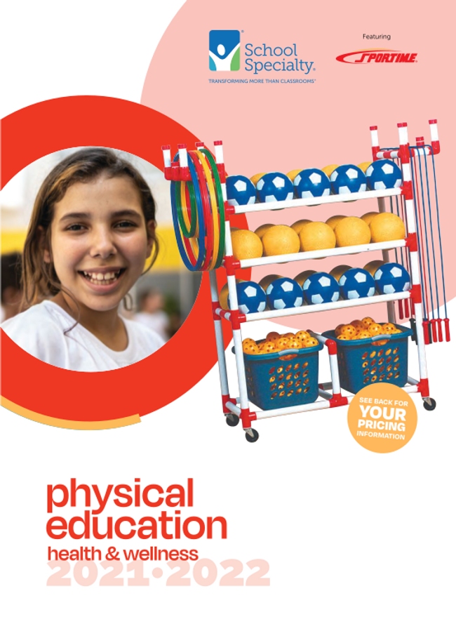 School Specialty Physical Education Catalog Cover