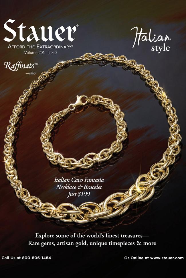 Stauer Catalog Cover
