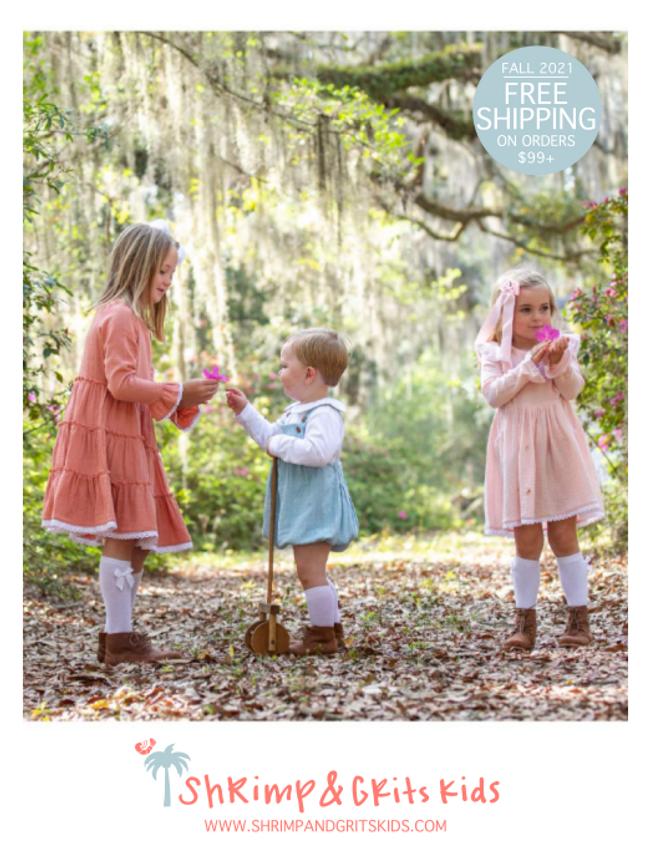 Shrimp and Grits Kids Catalog Cover