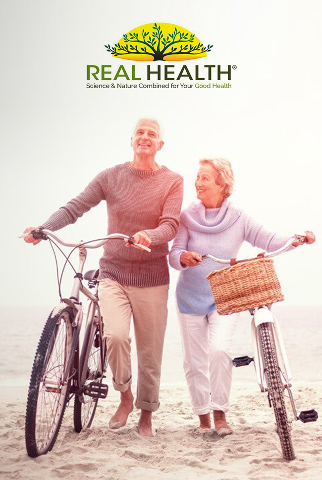 Real Health Catalog Cover