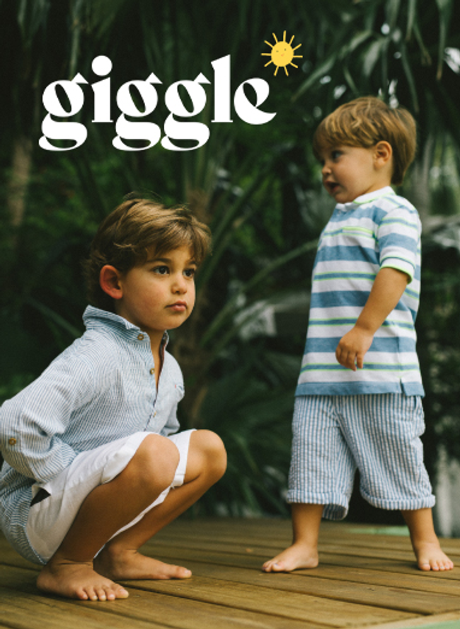 giggle Catalog Cover