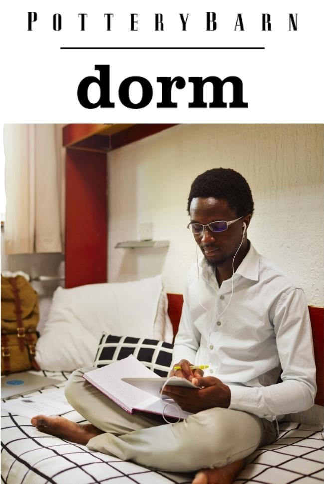 Pottery Barn Dorm Catalog Cover
