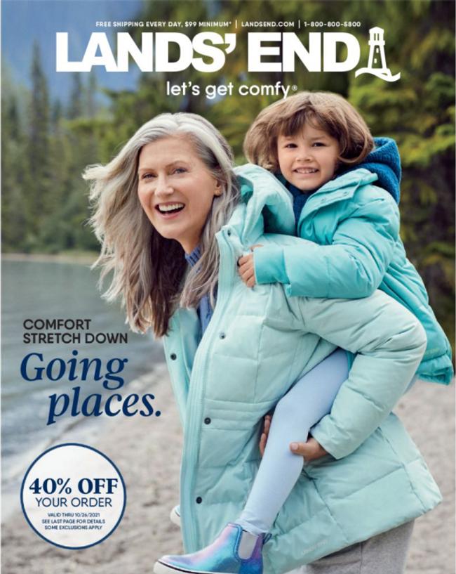 Lands' End Catalog Cover