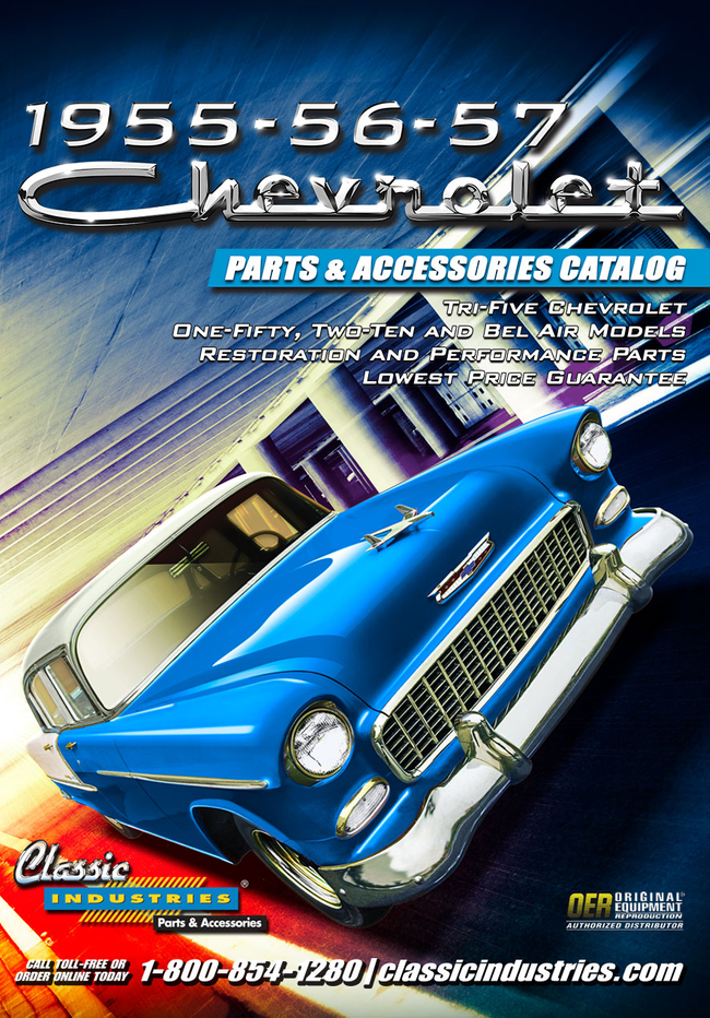 Tri-Five Chevy Catalog Cover