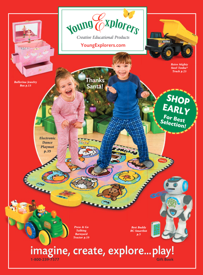 Young Explorers Catalog Cover