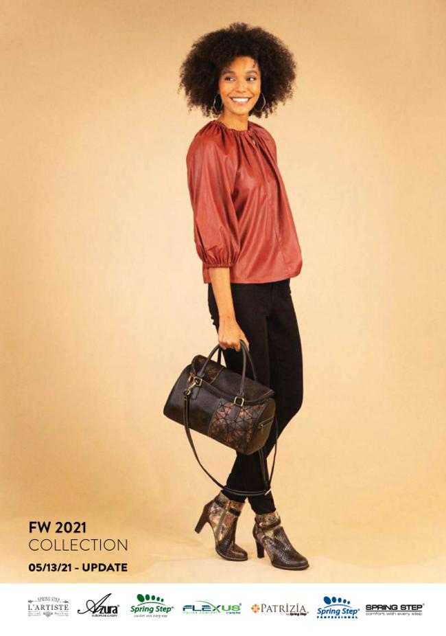 Spring Footwear Catalog Cover