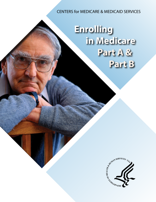 Enrolling in Medicare Part A & Part B Catalog Cover