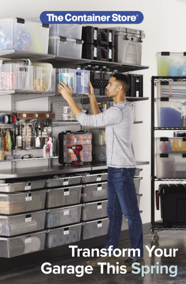 Container Store Garage Catalog Cover