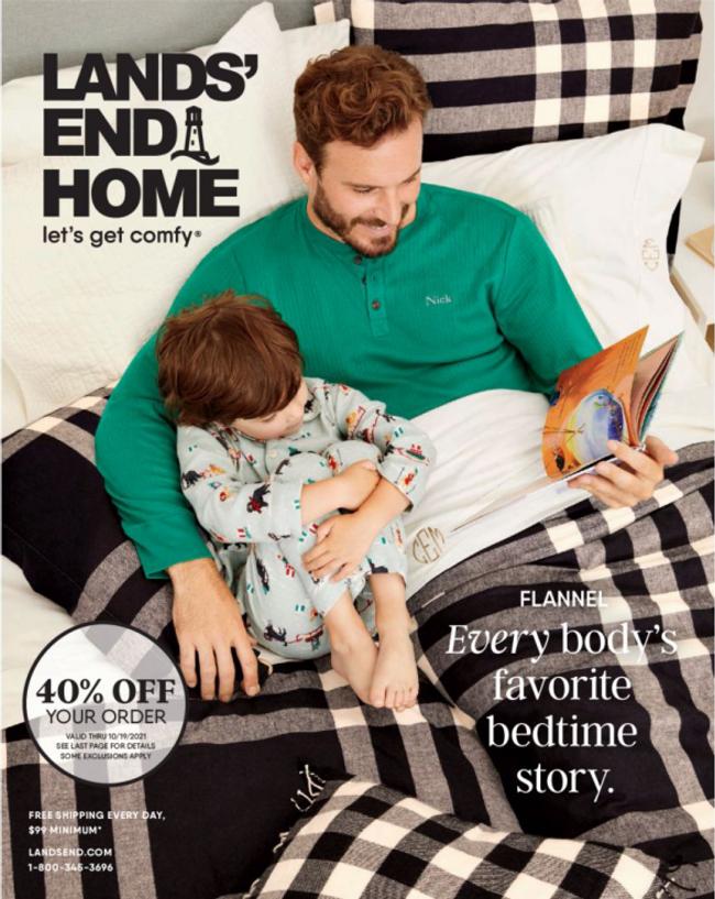 Lands' End - Home Catalog Cover
