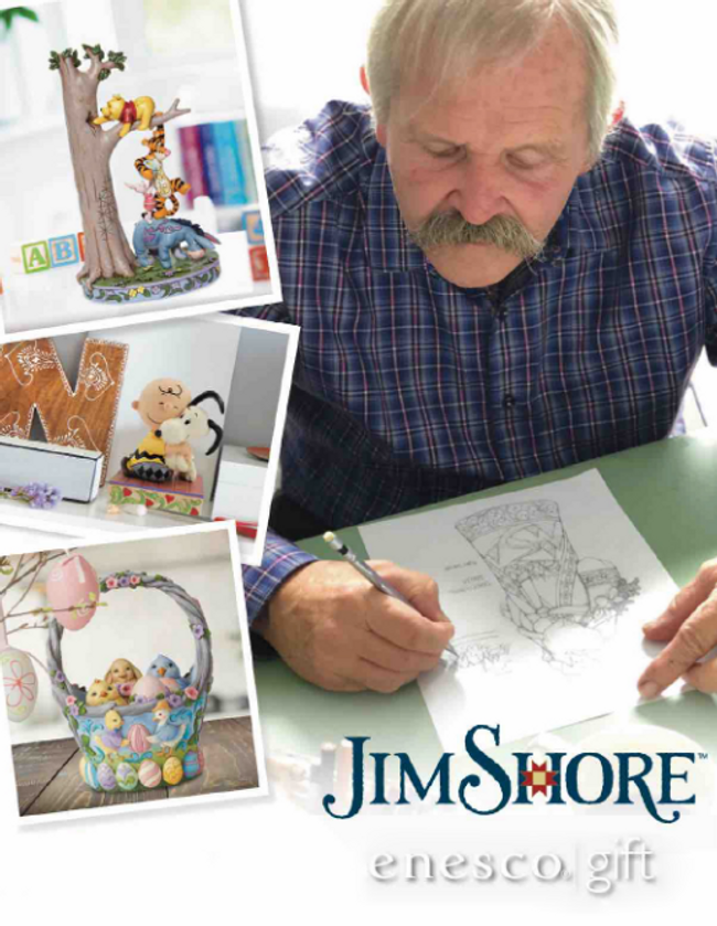 Jim Shore Gifts and Collectibles Catalog Cover