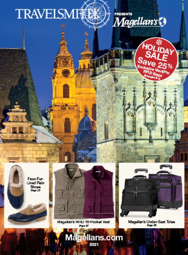 Travelsmith by Magellan's Catalog Cover