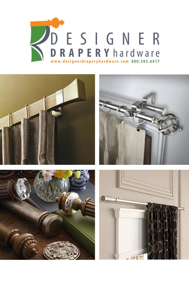 Designer Drapery Hardware Catalog Cover
