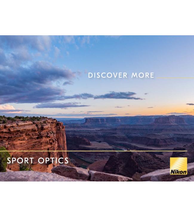Nikon Sport Optics Catalog Cover