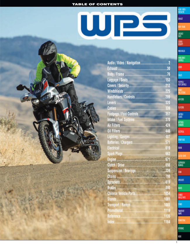 Western Power Sports Catalog Cover