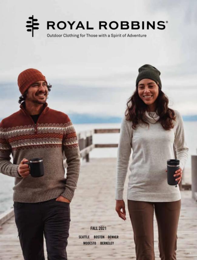 Royal Robbins Catalog Cover
