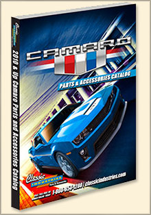 Picture of camaro parts catalog from 2010 and Up Camaro by Classic Industries