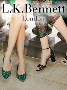 Picture of lk bennett shoe catalog from LK Bennett catalog