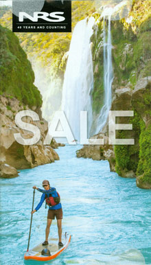 Picture of kayaking gear from NRS - Northwest River Supplies catalog