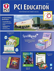 Picture of special education lesson plans from PCI Education catalog