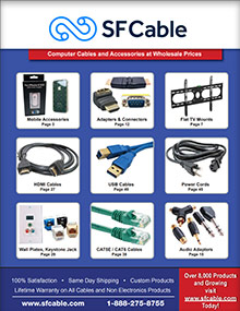 Picture of sf cable from SF Cable catalog