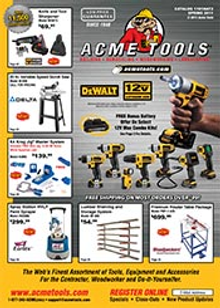 Picture of ACME Tools from Acme Tools catalog